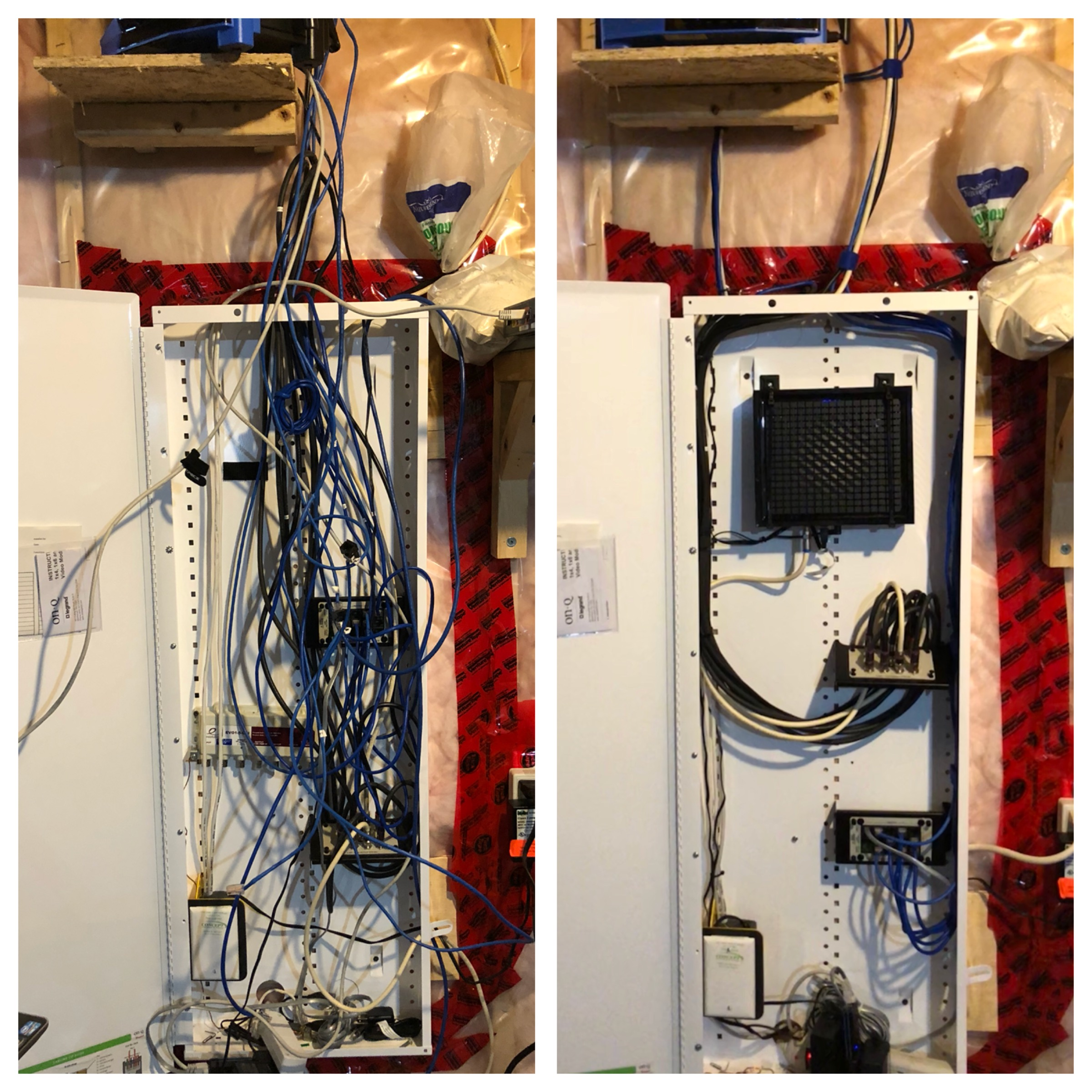 Tired of Messy Wiring? - Just as in your living room, messy wiring from electronics in any room in your home can be unsightly and confusing.  Let's make your electronics something worth showing off!