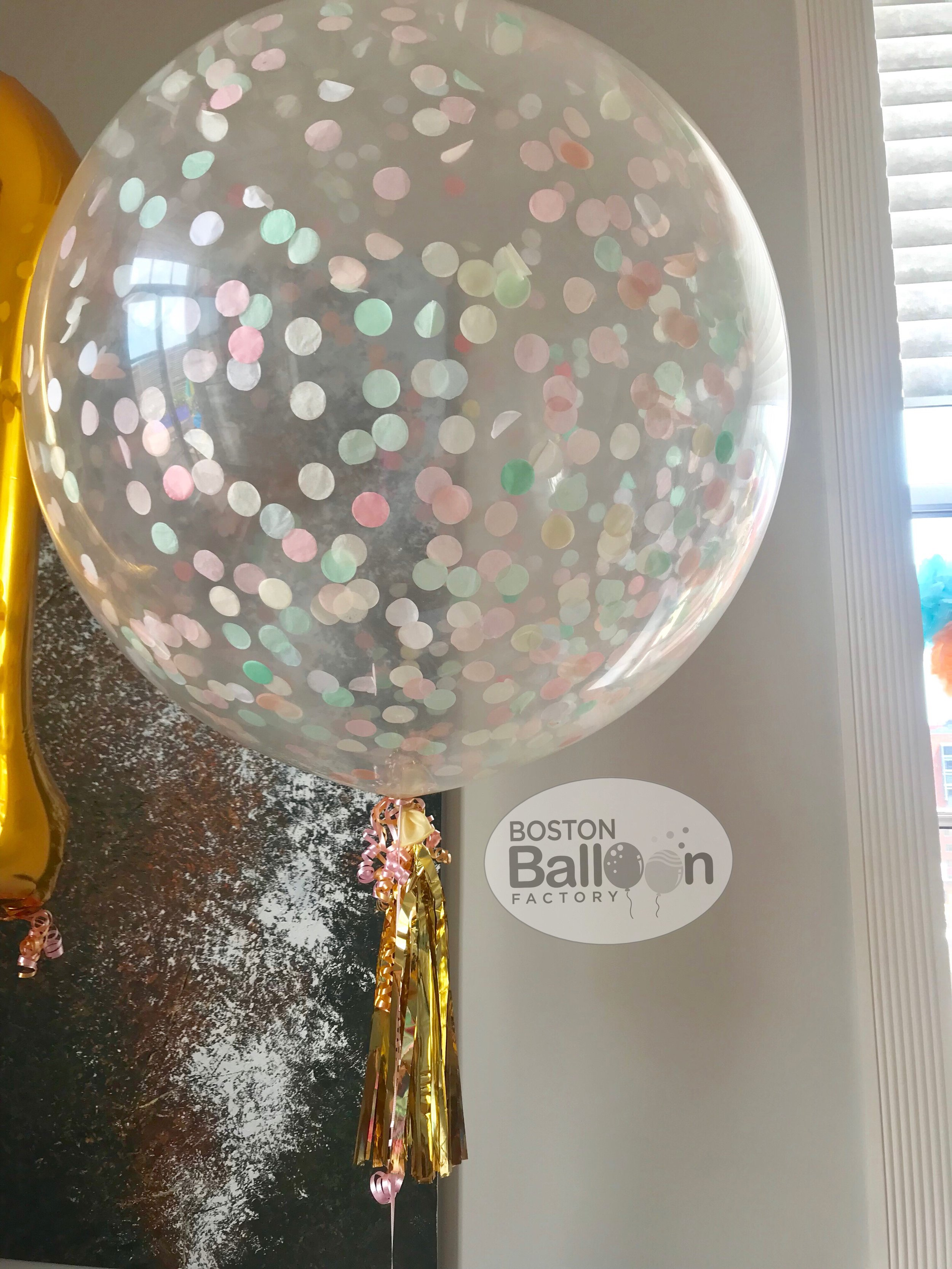 3 Foot Confetti Filled Balloon!