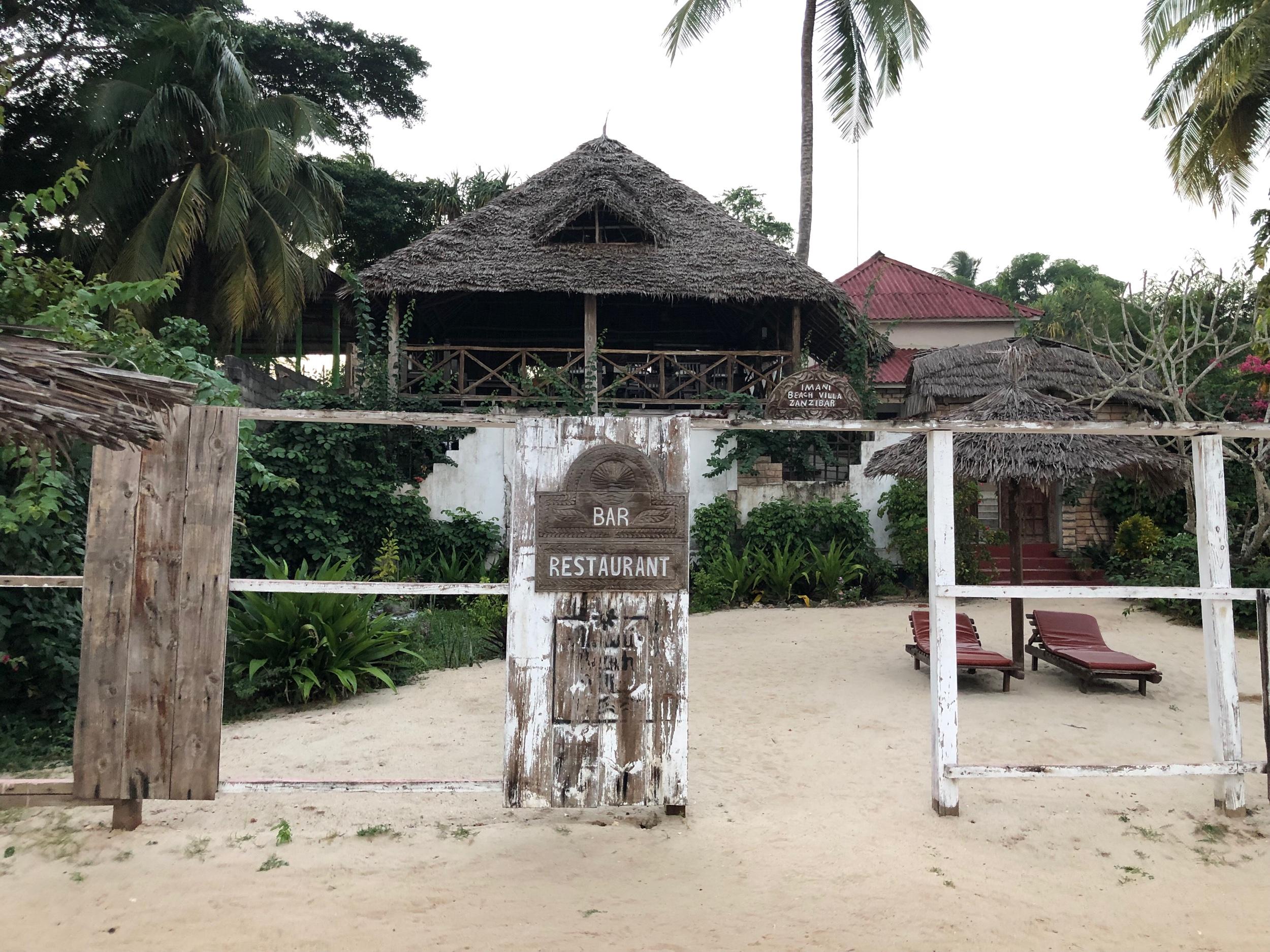 Imani Beach Villa, Zanzibar