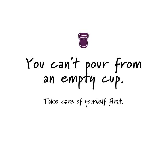 You can't pour from an empty cup. Take care of yourself first. . . . #SelfCare #TakeCareofYourself #EmptyCup #PrioritiseYourself #YouComeFirst #DailyQuote #QuotesOfInstagram #Quote #Quotes #EmptyCup #FillUpMyCup #WiseWoords #Checkin #MaguireMktg #B2BProfessionalServices
