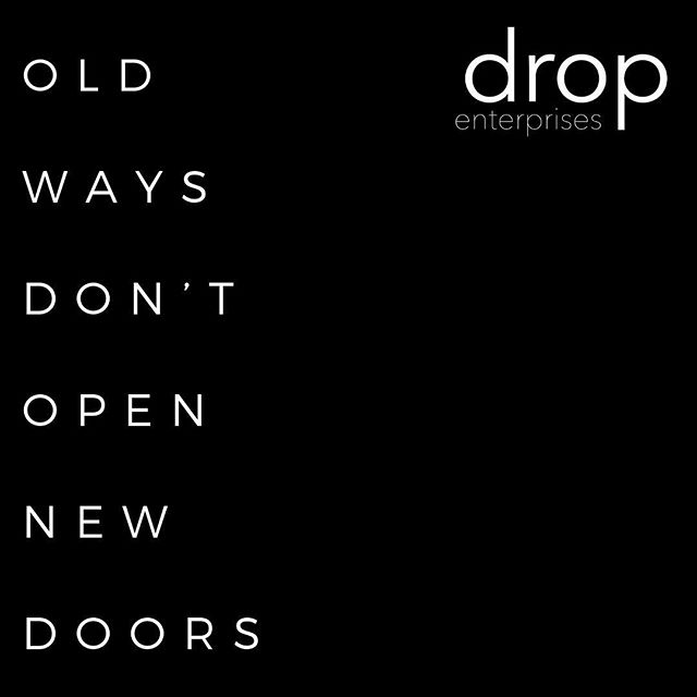 Drop is about changing the world of online marketing for the better. Progress means making things better for our clients and that's the only thing that matters to us. • #socialmediamarketing #digitalmarketing #webdesign #quinte #bayofquinte #pec #quintewest #dropenterprises #thecounty #cobourg #brighton #bancroft #ontario #buylocal #supportlocalbusiness #quote #quotes #change #customerfirst #makeitbetter