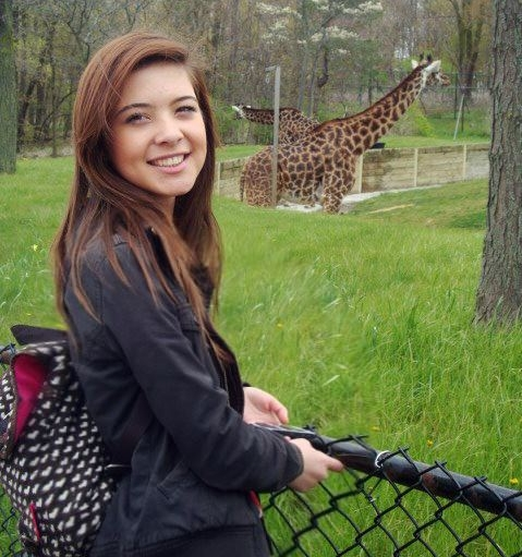 The last time I went to the zoo in 2012. I was still obviously learning how to smile.