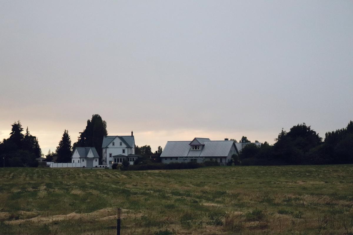 Olympic peninsula Sequim Washington Farmhouse Countryside Life in the Washington Wilderness