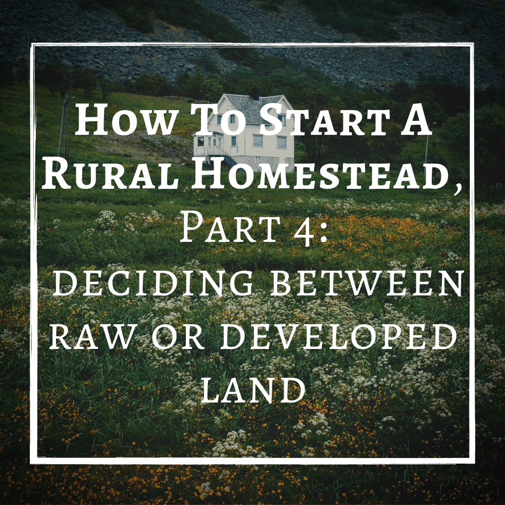 How To Start A Rural Homestead Raw or Developed Land.png