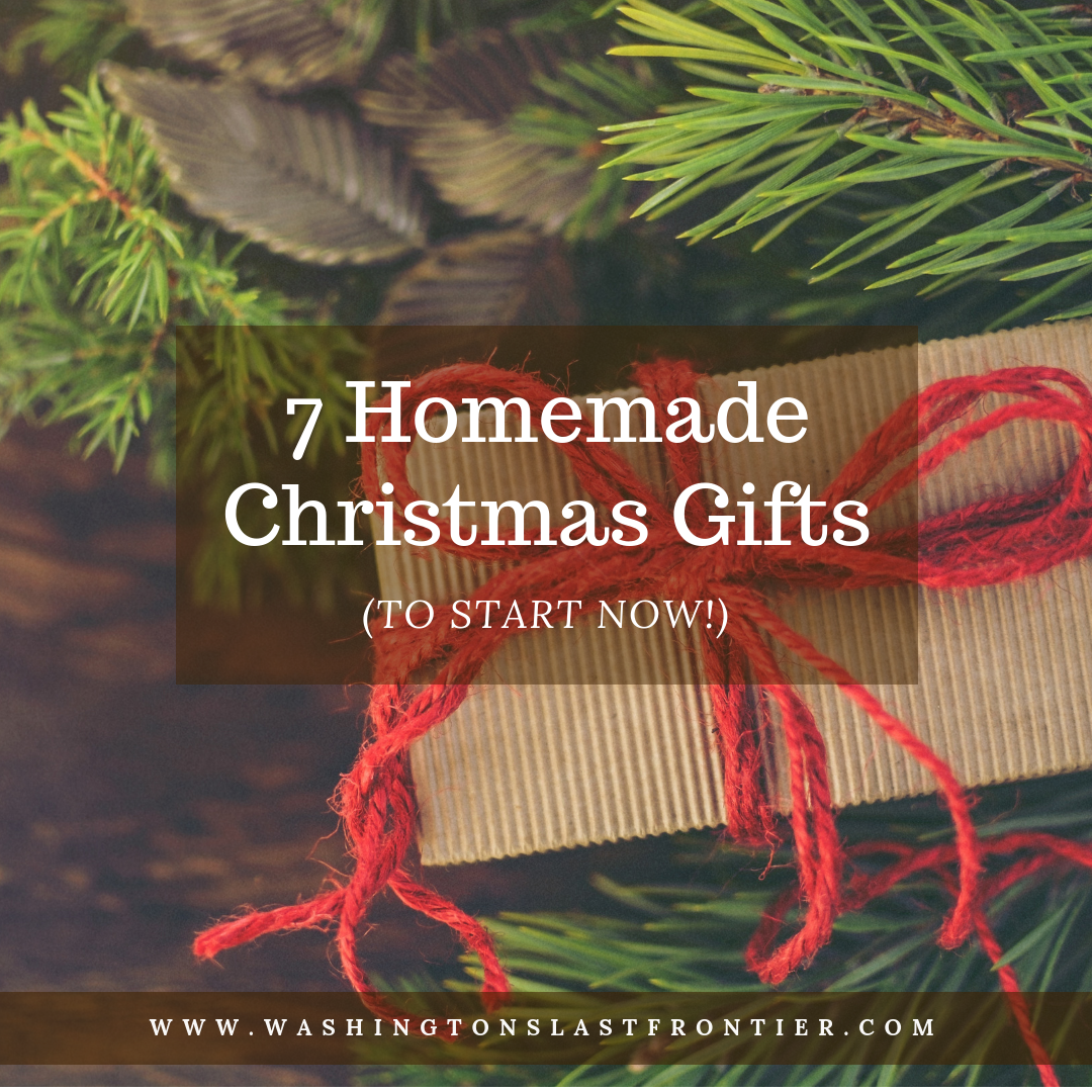 7 Homemade Christmas Gifts To Start Now 2019 DIY