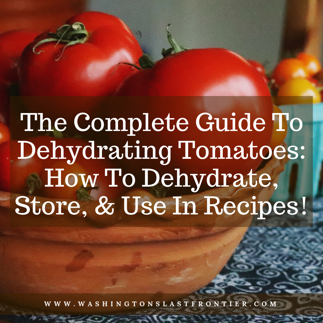 The Complete Guide To Dehydrating Tomatoes: How To Dehydrate, Store, & Use In Recipes!