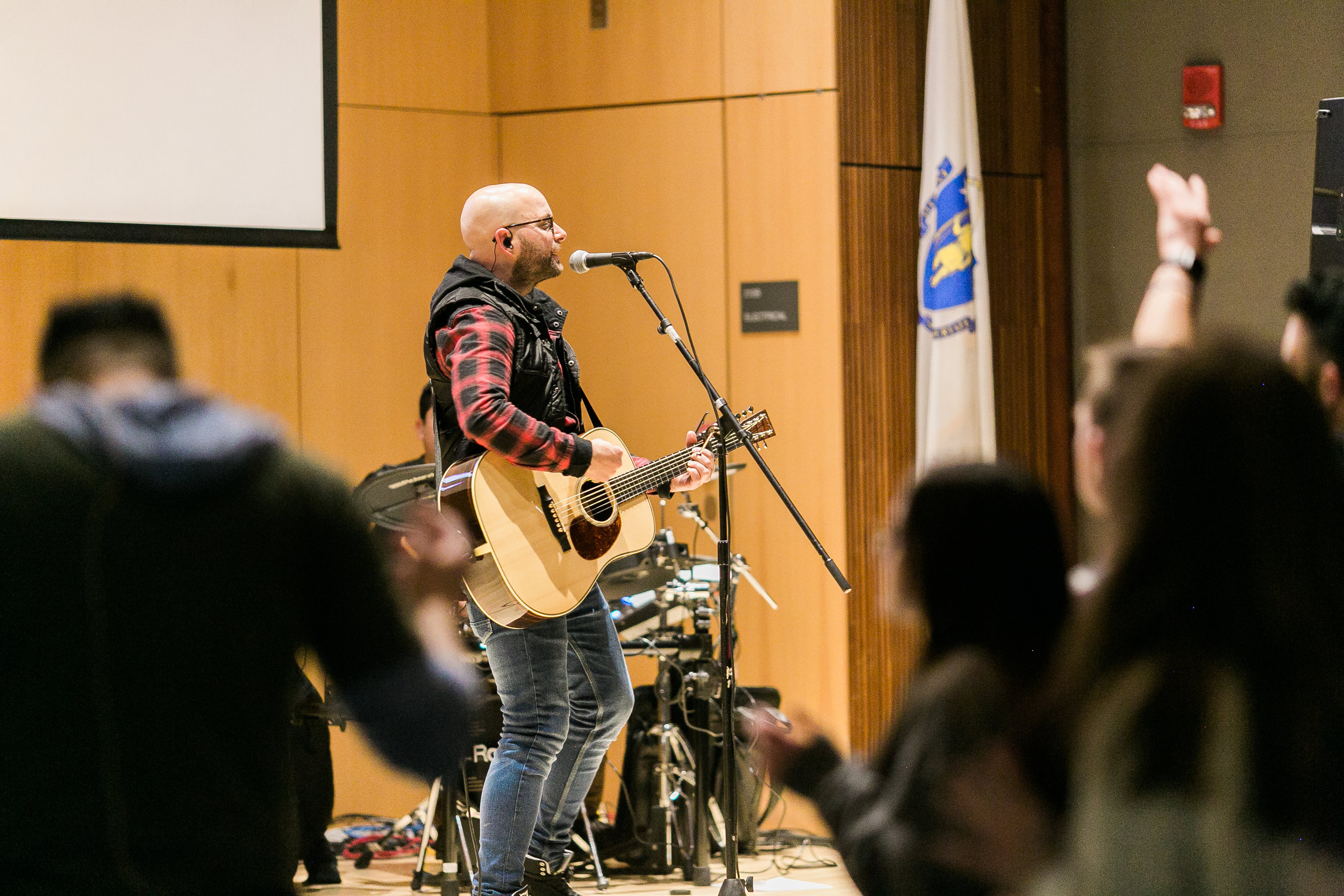 THE MUSIC - Music has always been a powerful part of the Christian faith. An important part of every gathering is dedicated to singing the truths of the Christian faith in a modern way. About 25 minutes of our gathering you will hear songs of faith.FOLLOW OUR SPOTIFY PLAYLIST