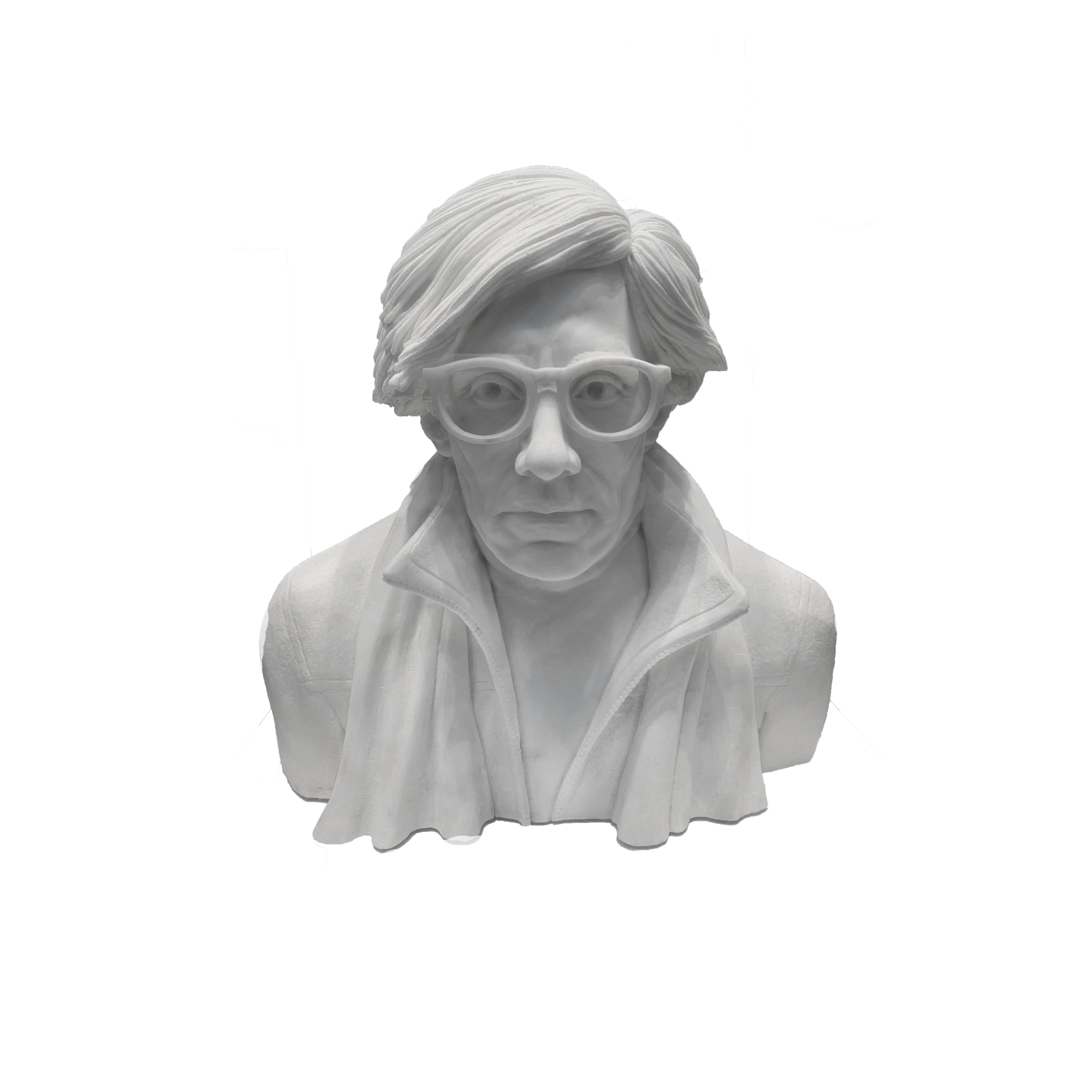 North American Sculpture Collective   Andy Warhol Bust , 2019  $43,000   VIEW DETAILS