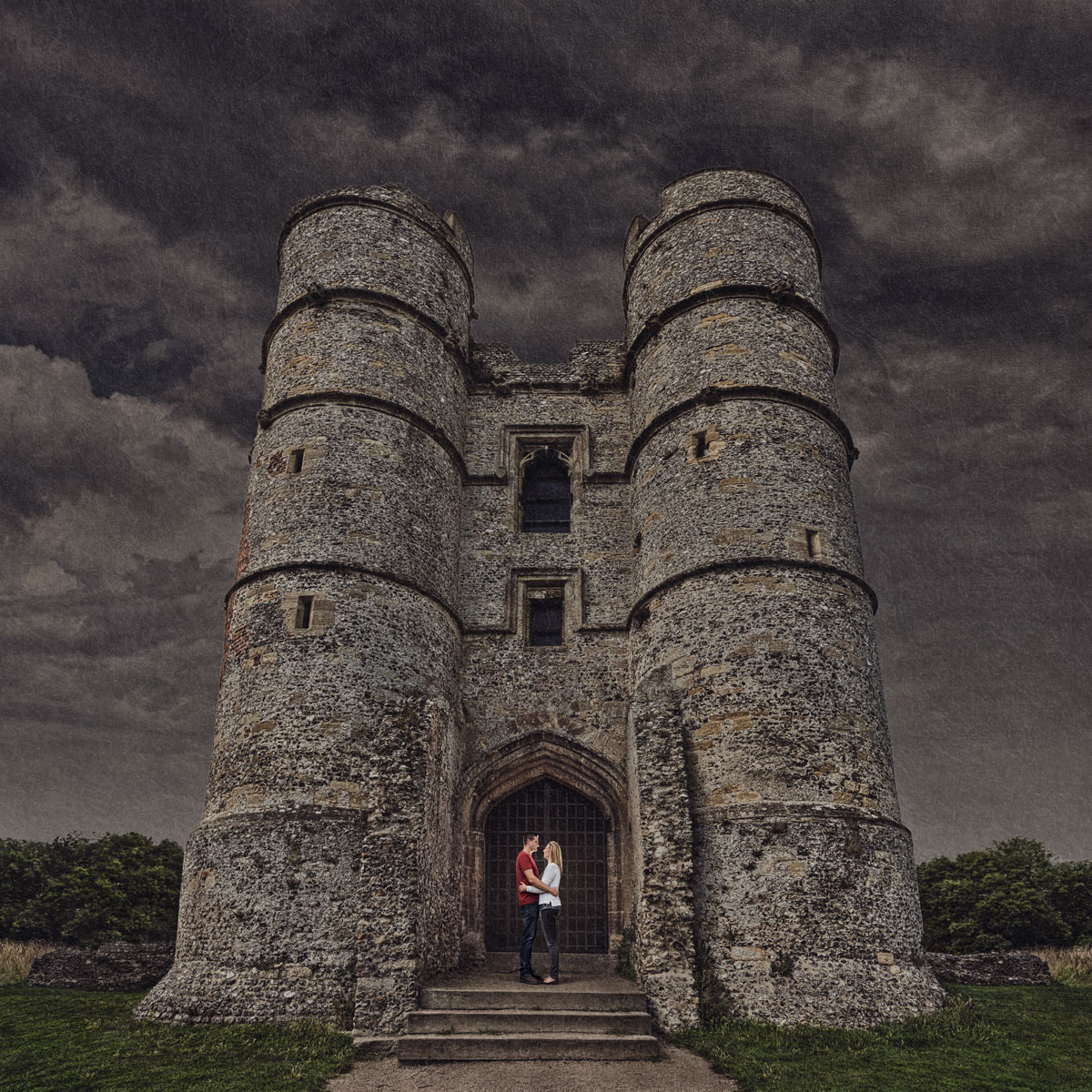 Wedding photography in a castle