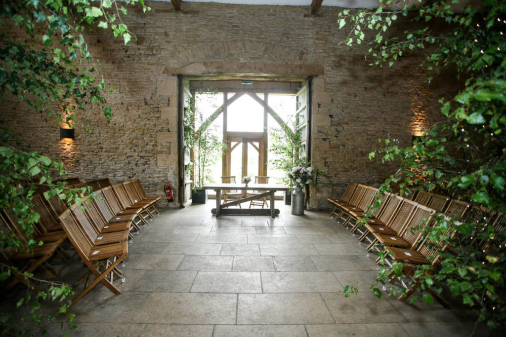 Stone Barn wedding venue exterior