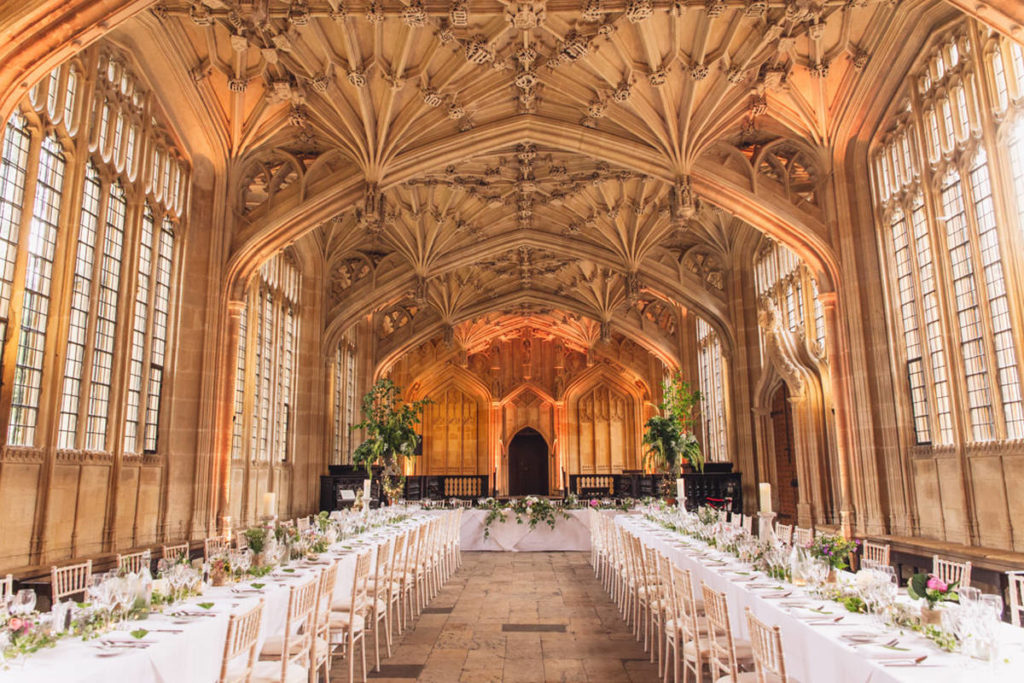 Bodleian Library Oxford Table Layout