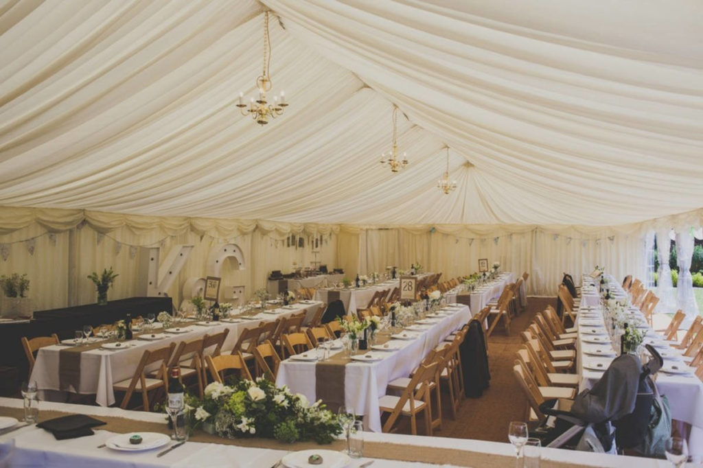 Pear Tree Meadow Marquee