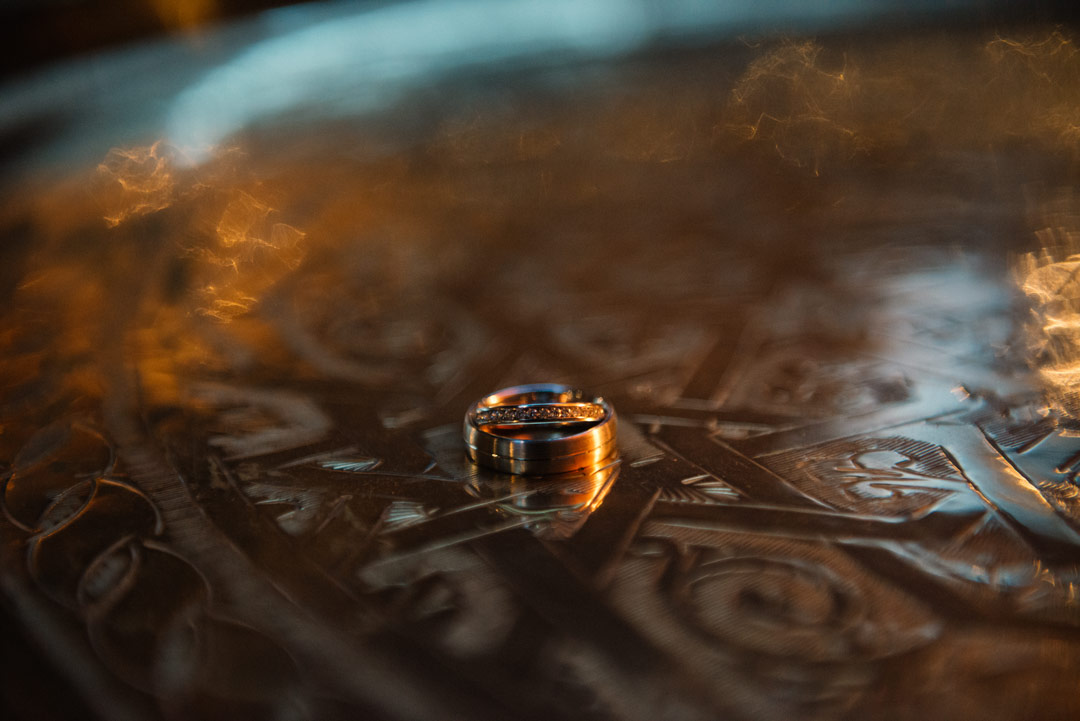 The Crazy Bear Wedding Ring Shot