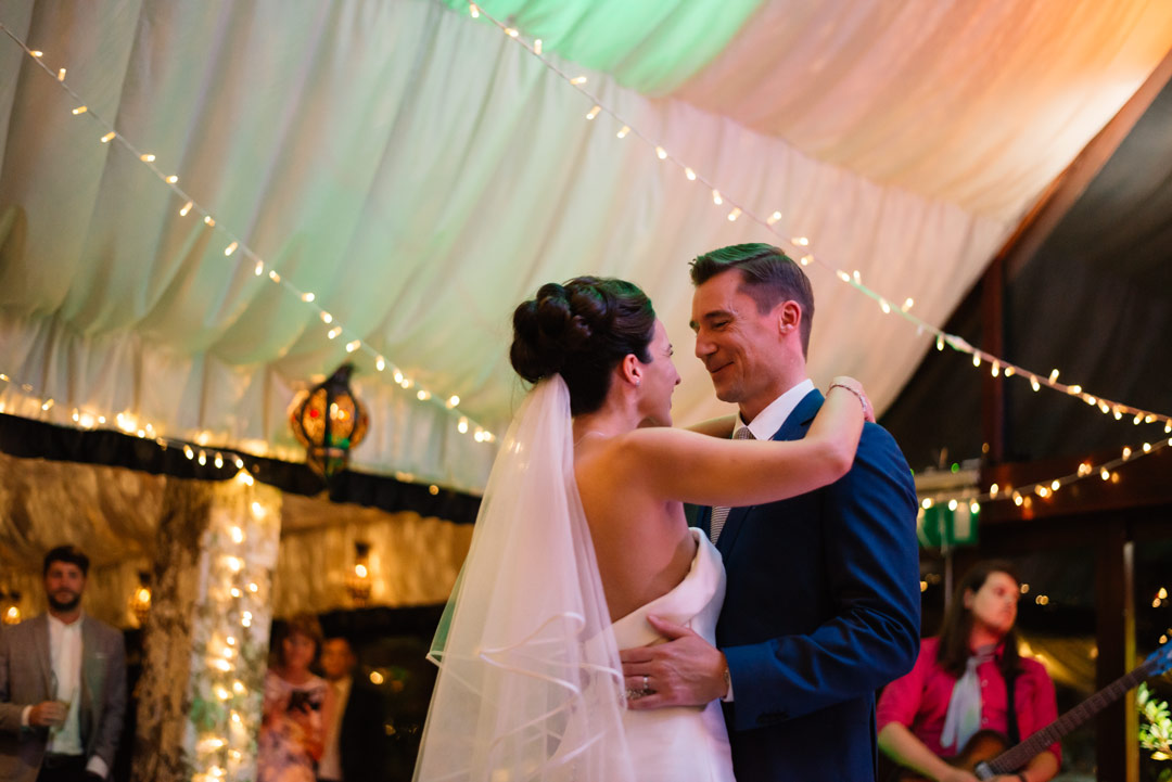 The Crazy Bear Wedding First Dance Photo