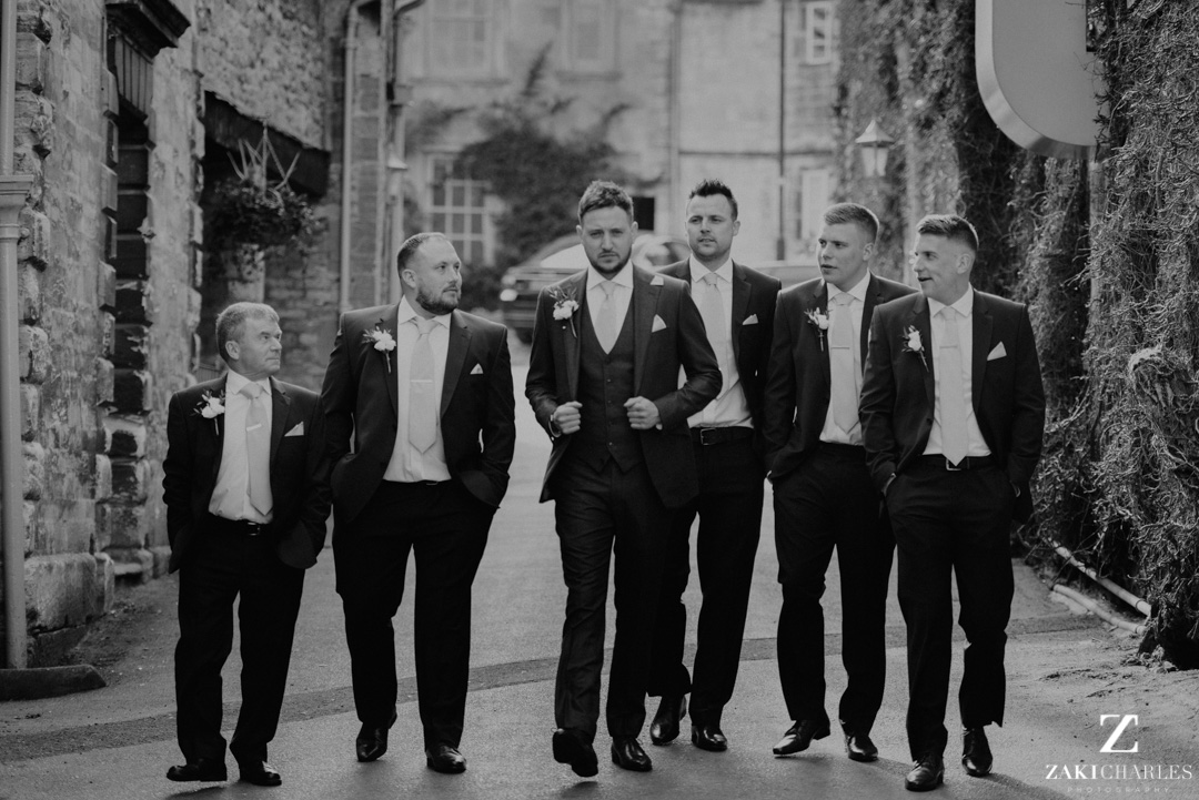 Classic Groom and Groomsmen portrait
