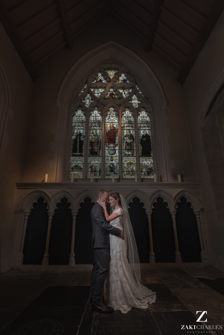 St aldates church wedding portraits