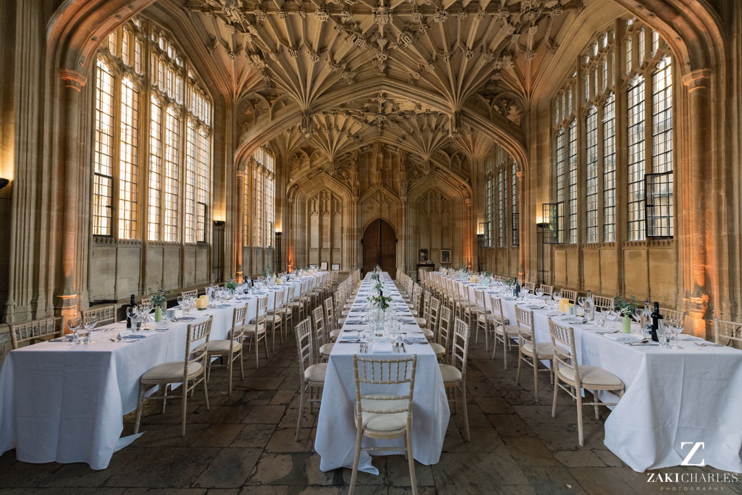 The Bodleian Library dinning room