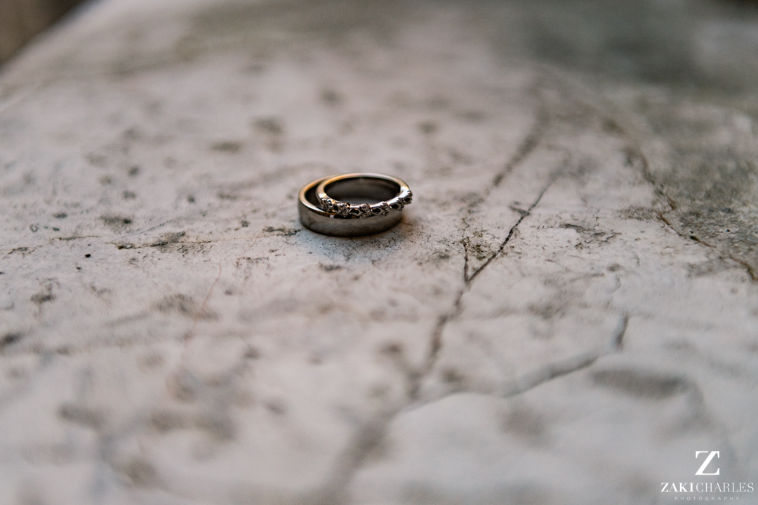 Wedding rings at The Bodleian Library