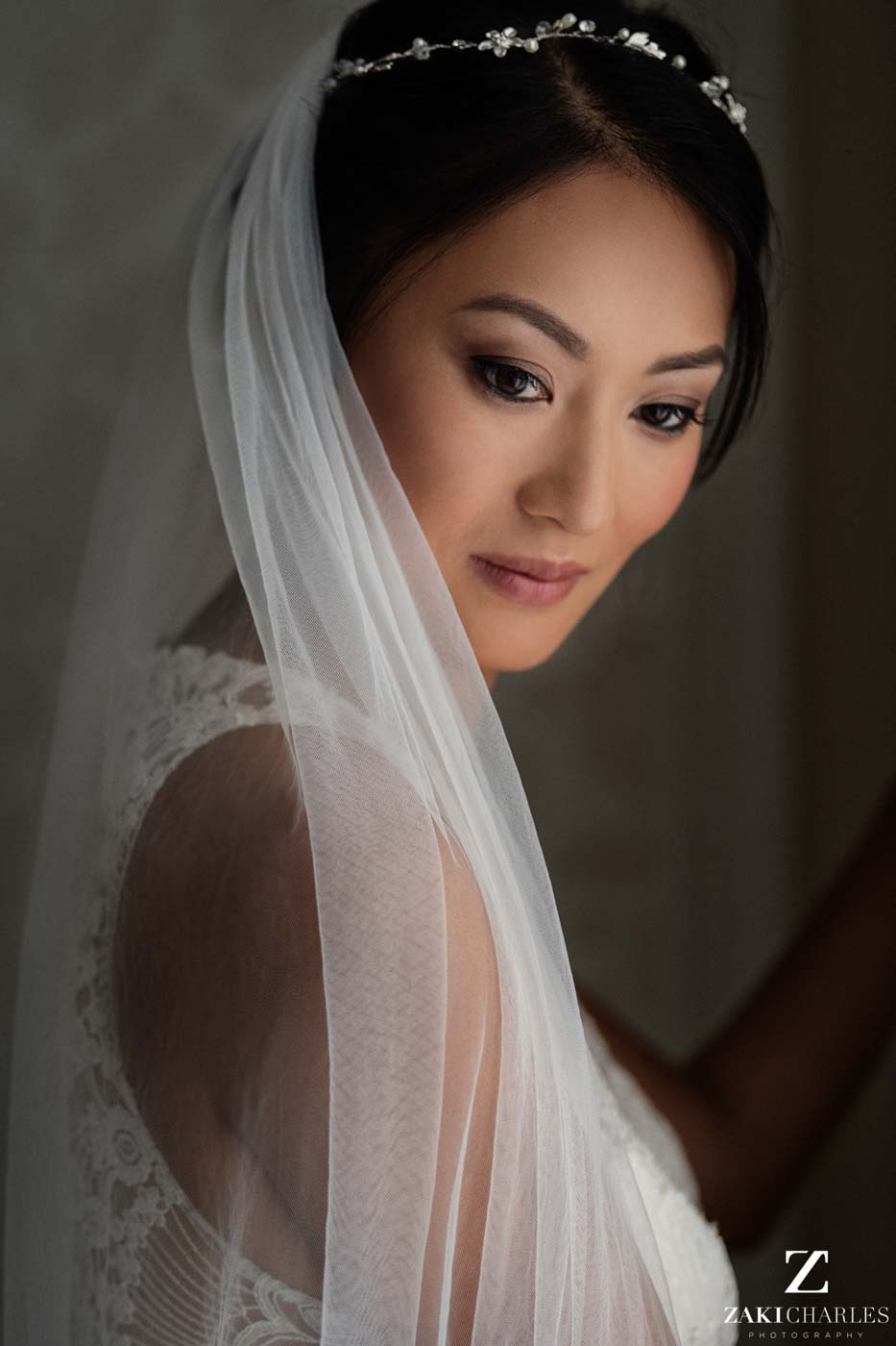 Portrait of bride Candy at Hedsor House