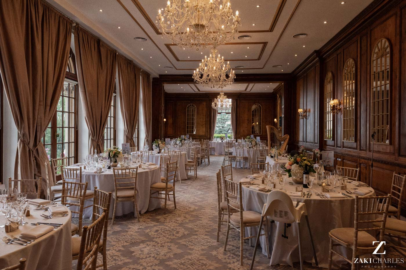 Hedsor House dining room photo