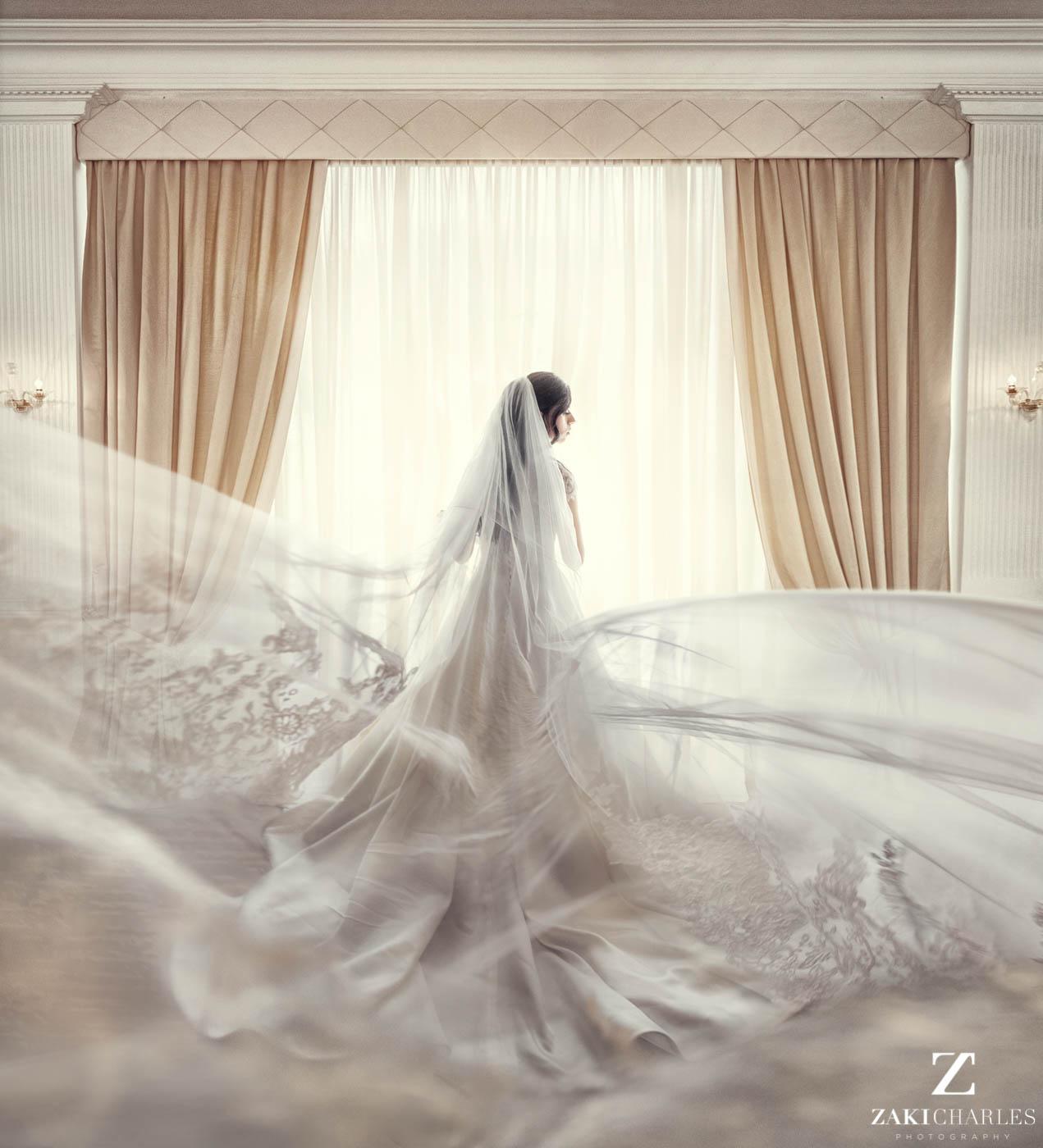 Natural light wedding photography at Marriott Hotel Regents Park