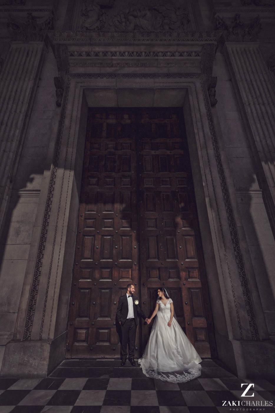 Fine art wedding photography at Marriott Hotel Regents Park 2
