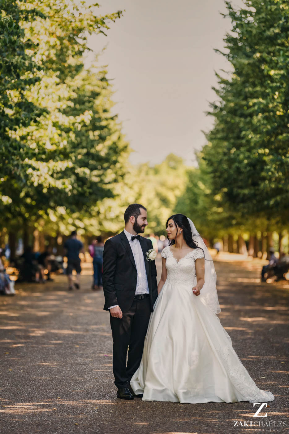 Wedding photography at Marriott Hotel Regents Park