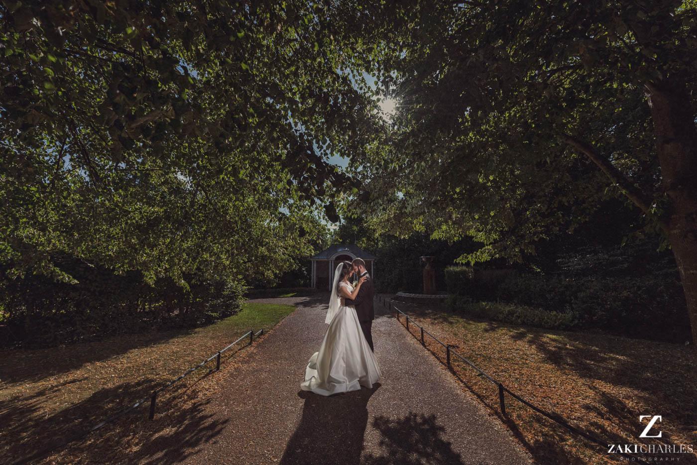 Fine art wedding photography at Marriott Hotel Regents Park 4
