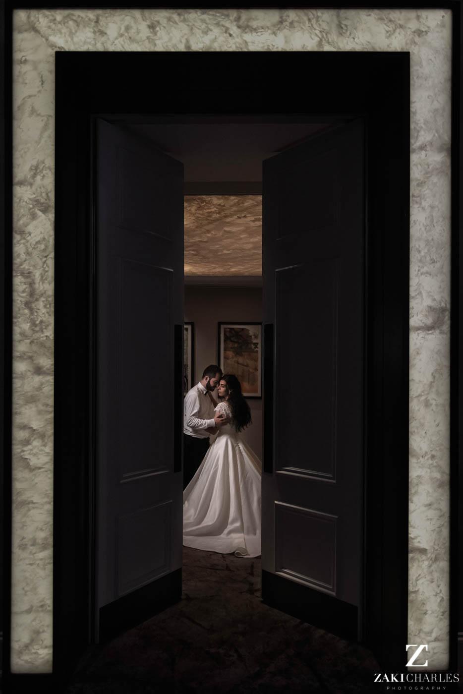 Fine art wedding photography at Marriott Hotel Regents Park 5