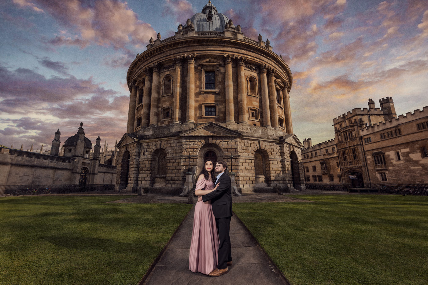 bodleian library wedding photography