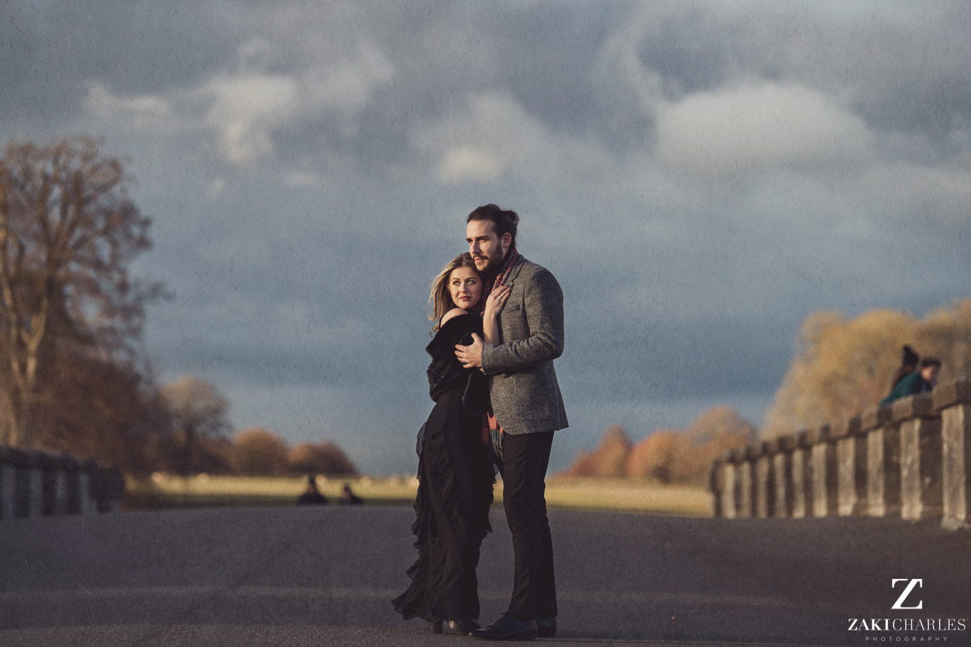 Blenheim Palace Engagement Session, AJ and Yannis fine art photography, Zaki Charles 10