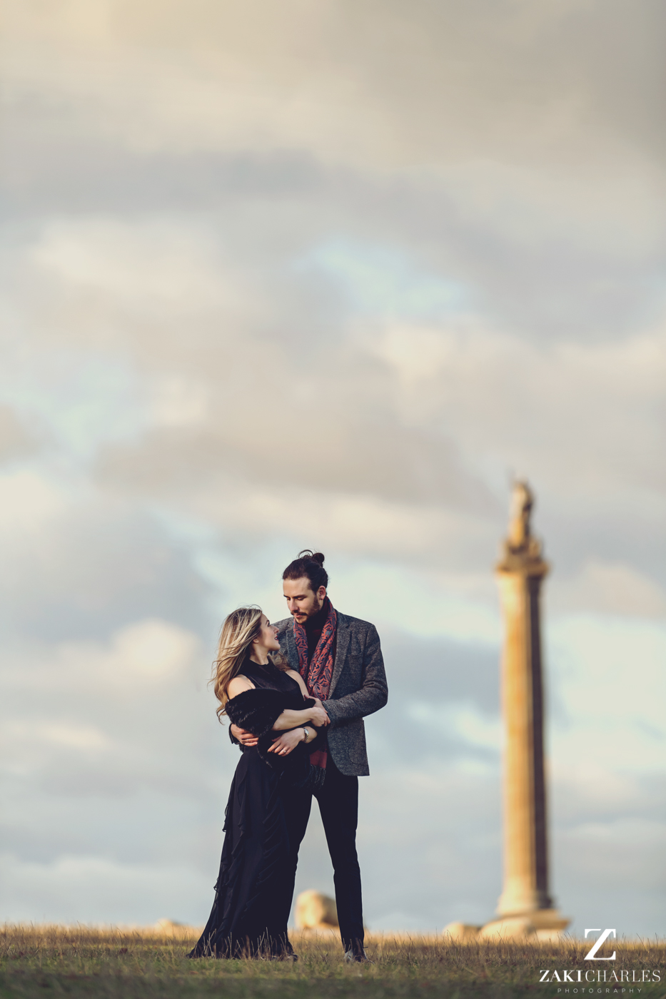Blenheim Palace Engagement Session, AJ and Yannis, Zaki Charles Photography 5