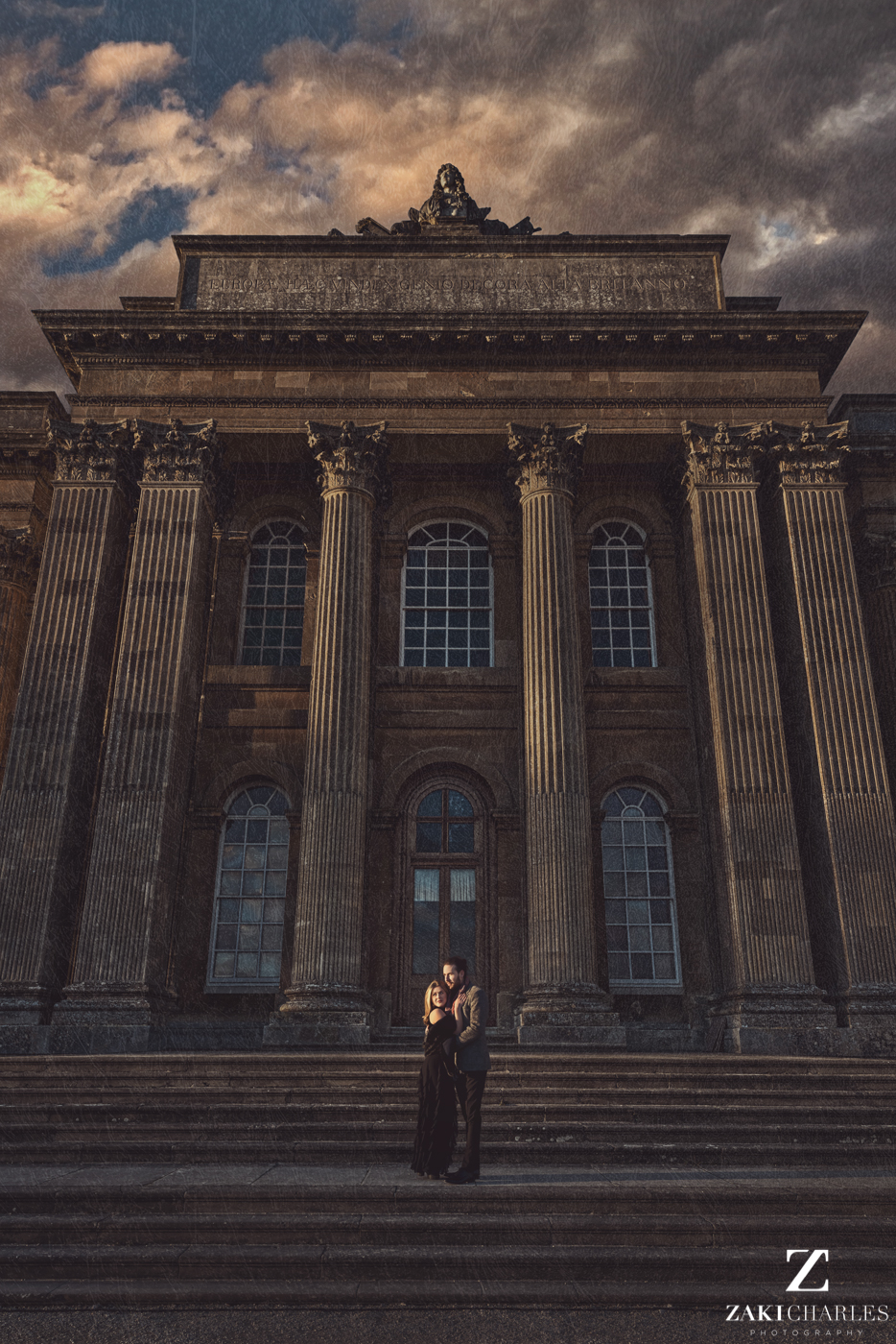 Blenheim Palace Engagement Session, AJ and Yannis fine art photography, Zaki Charles 4