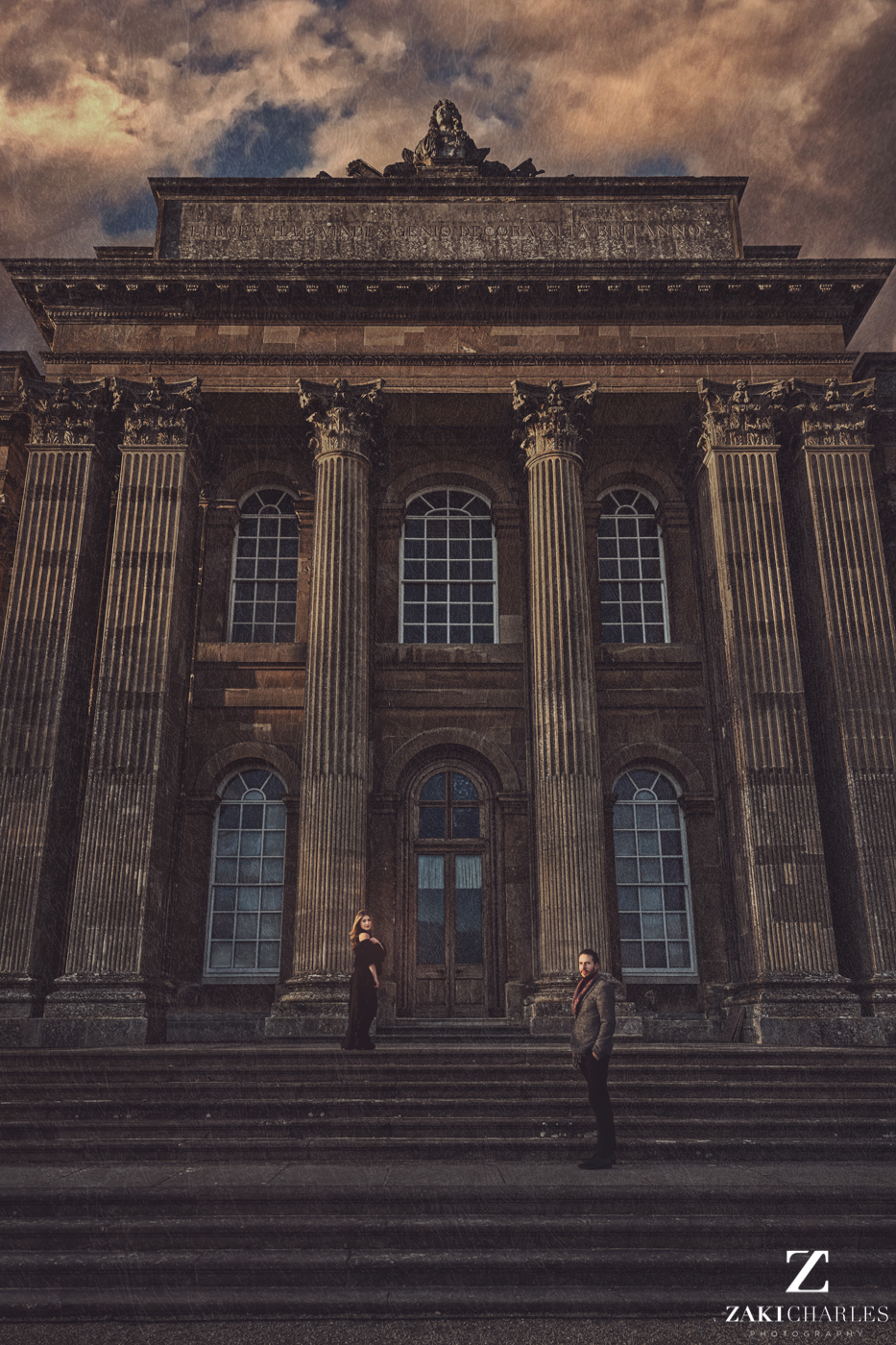 Blenheim Palace Engagement Session, AJ and Yannis fine art photography, Zaki Charles 5