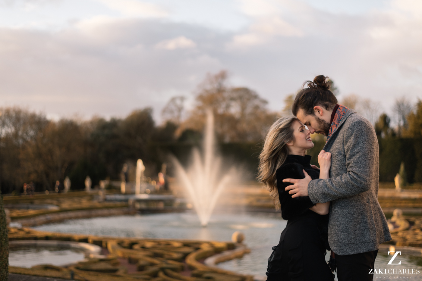 Blenheim Palace Engagement Session, AJ & Yannis, photography 1