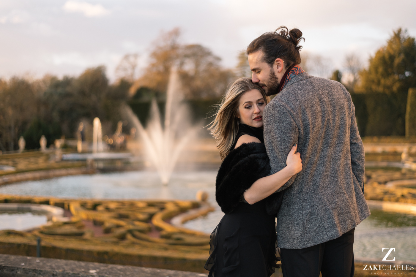 Blenheim Palace Engagement Session, AJ & Yannis, photography 2