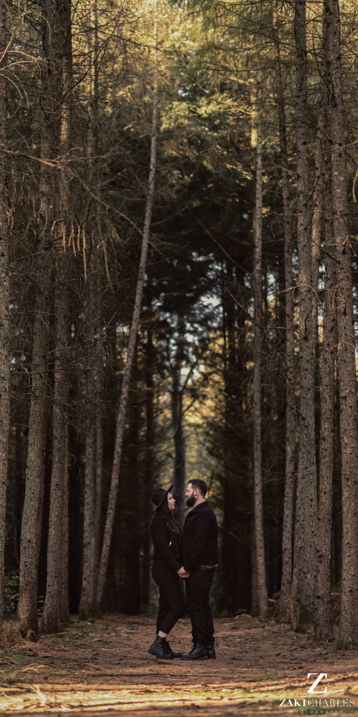 Black Park Engagement Session, Kirsty & Alex fine art photography 2