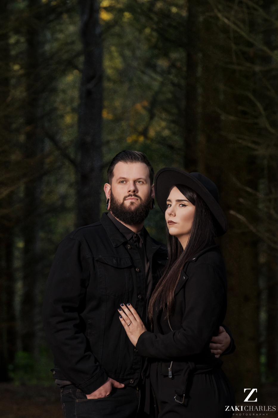 Black Park Engagement Session, Kirsty & Alex Zaki Charles Photography 2