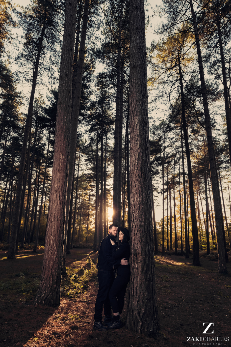 Black Park Engagement Session, Kirsty & Alex fine art photography 3