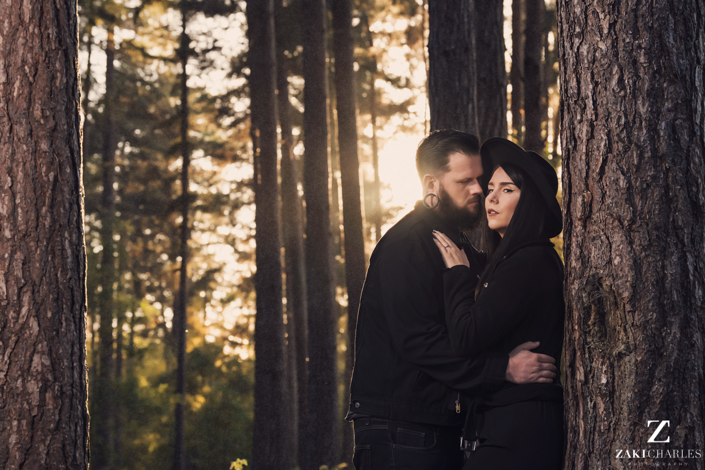 Black Park Engagement Session, Kirsty & Alex Zaki Charles Photography 11