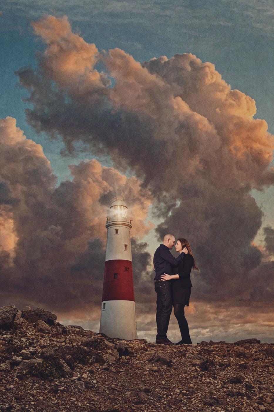 Lighthouse engagement session 2