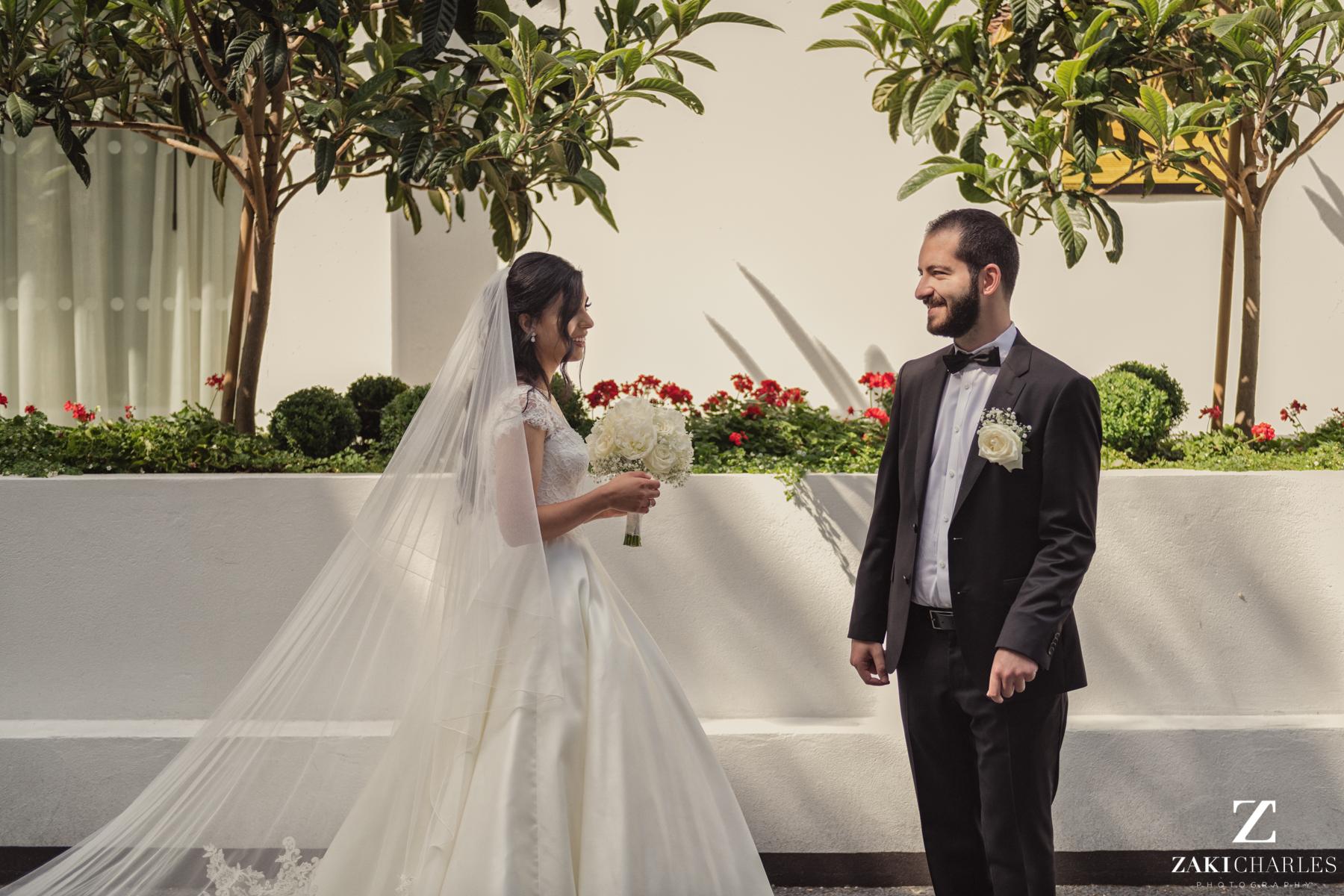 First look between Bride and Groom 6