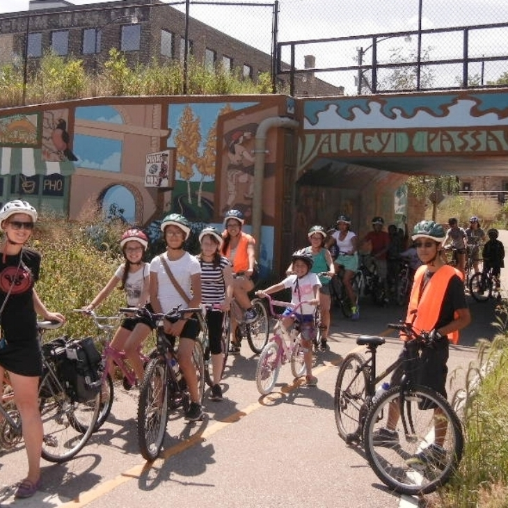 >1,000 kids have benefited fromBike Adventure Camps -