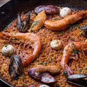 "30 ""MUST TRY"" DISHES IN LOS ANGELES -  Otoño's Mariscos Paella    - Time Out, 2018"