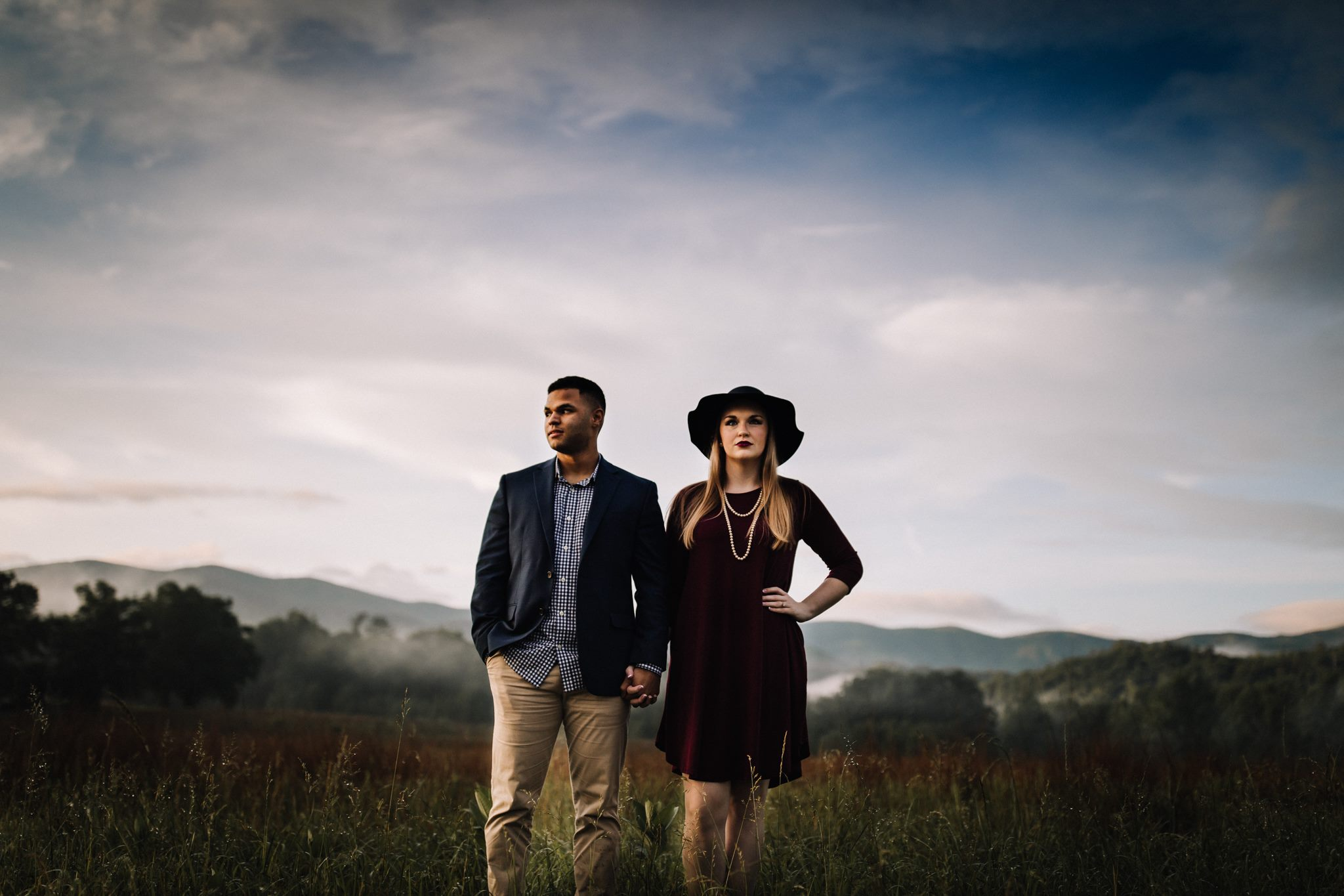 billie-shaye style photography - www.billieshayestyle.com - smokey mountain cades cove summer rain engagement session - gatlinburg tennessee-24.jpg