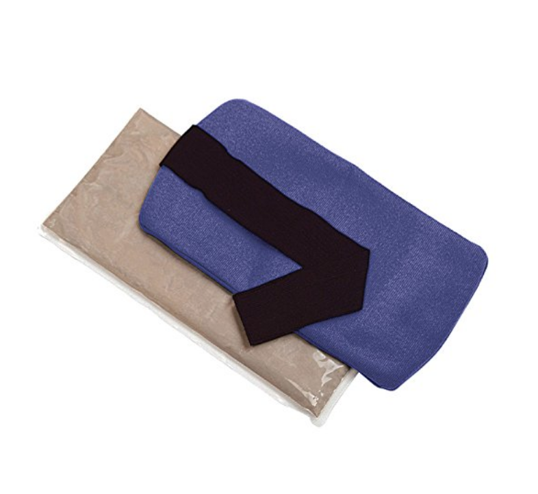 ThermiPaq Hot/Cold Pain Relief Wrap - These particular ice packs aren't so cold that they freeze your skin off on contact.They're a little gentler than that, and they conform to your shape making them a great choice for pain and inflammation.