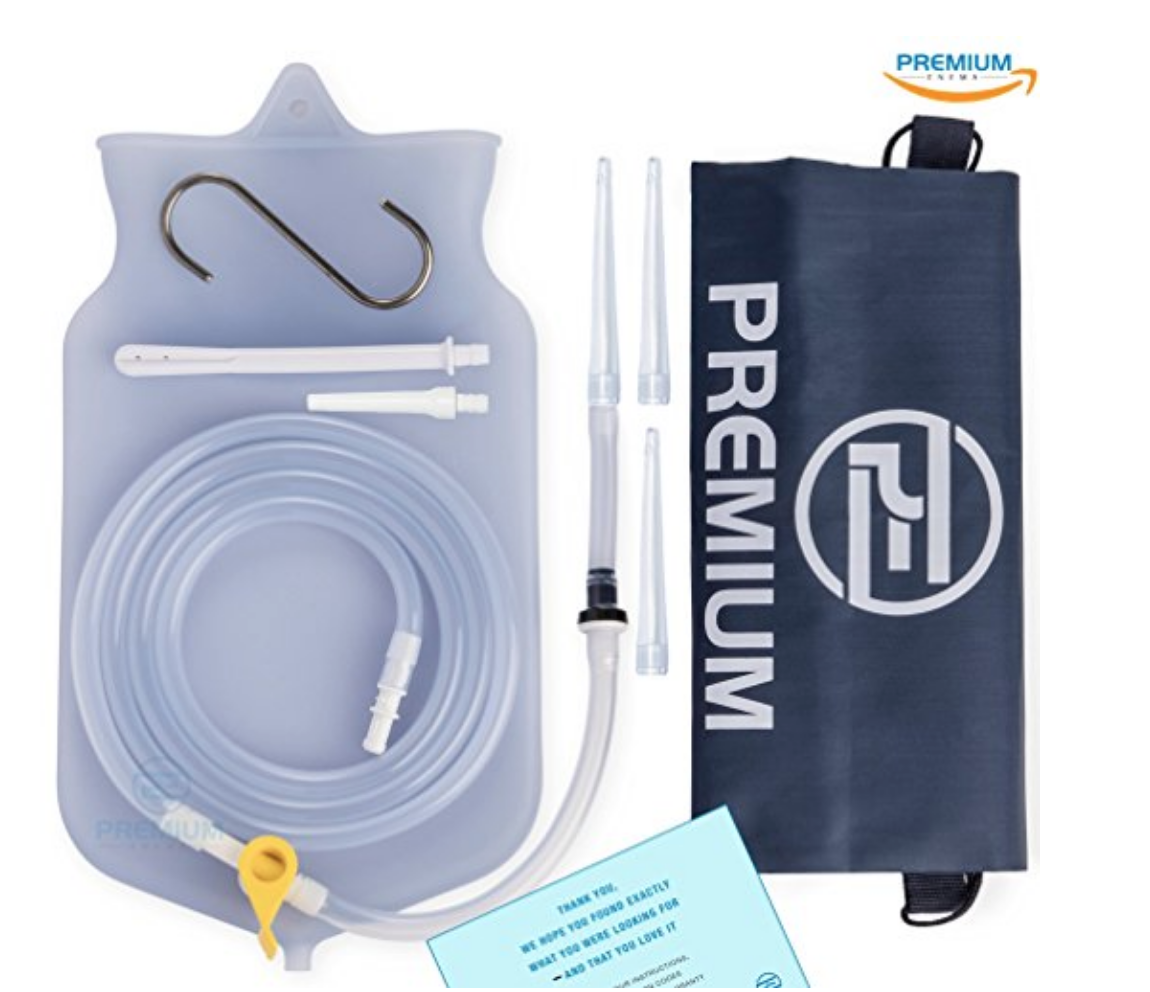 Premium Silicone Enema Kit - Trust us when we say that not all enema kits are created equal. This one is well-made, easy to clean, and reusable.