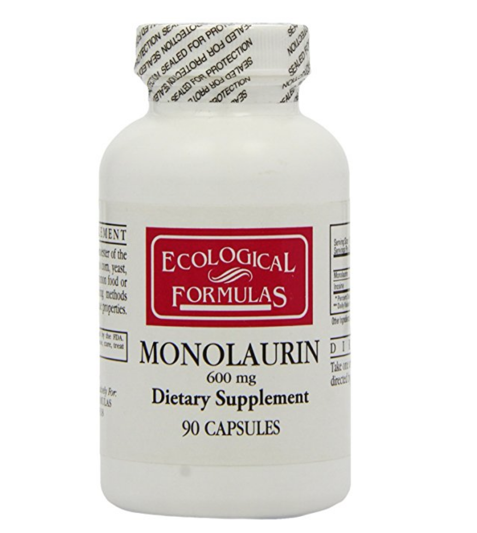 Monolaurin - A natural, coconut-derived supplement with anti-viral properties. When your immune system can't quite handle the viral load, this is a great option.