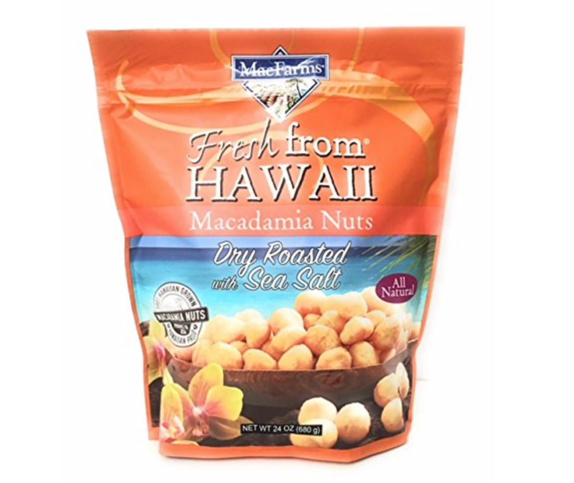 Macadamia Nuts to die for - We are warning you now...these are the BEST mac nuts out there. Better put a few in your hand and back away from the bag...otherwise, it's game over. Delish!