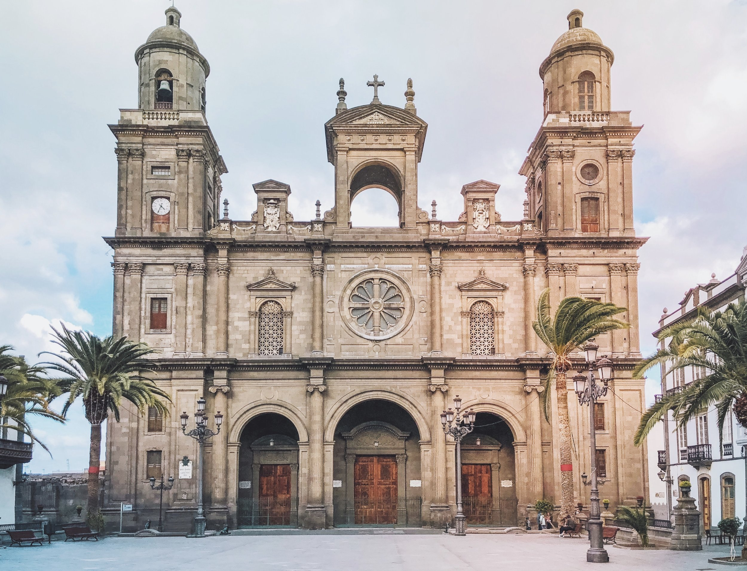 The Cathedral of Santa Ana in all her beauty